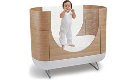 crib transforms into bed ubabub s modern eco pod cot grows with your child ubabub