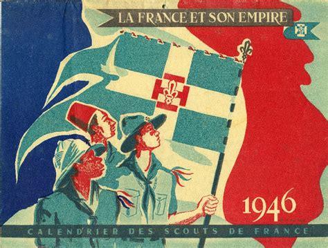 Calendrier De 1946 Calendrier Scouts De De 1946 Latoilescoute