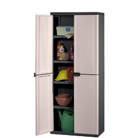 Buy Cupboard Keter 4 Shelf Plastic Storage Cabinet Cupboard Buy Click