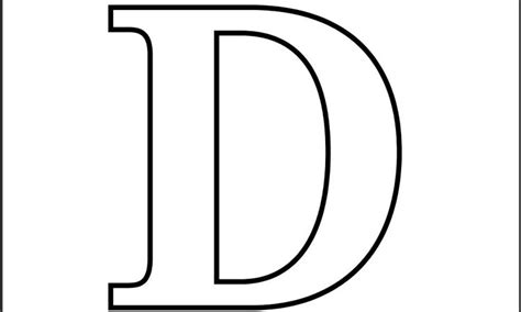 coloring page letter d printable letter d coloring page the power of the letter