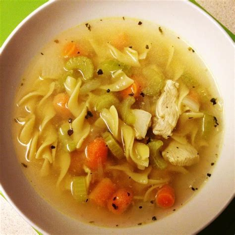 quick chicken noodle soup recipe all recipes uk