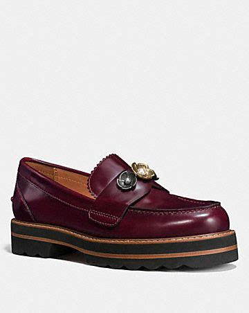 New Arrival Coach Shoes 1288 5 lenox loafer