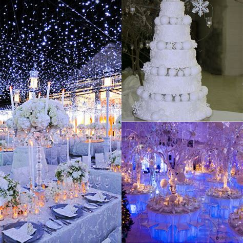 decoration themes for wedding winter themed wedding d 233 cor ideas weddceremony