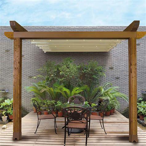 Pergola Aluminium Pour Terrasse 943 by Pergola Toile Retractable Caspar Stores