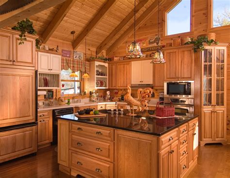 home interiors kitchen cook up a classic kitchen in your log home