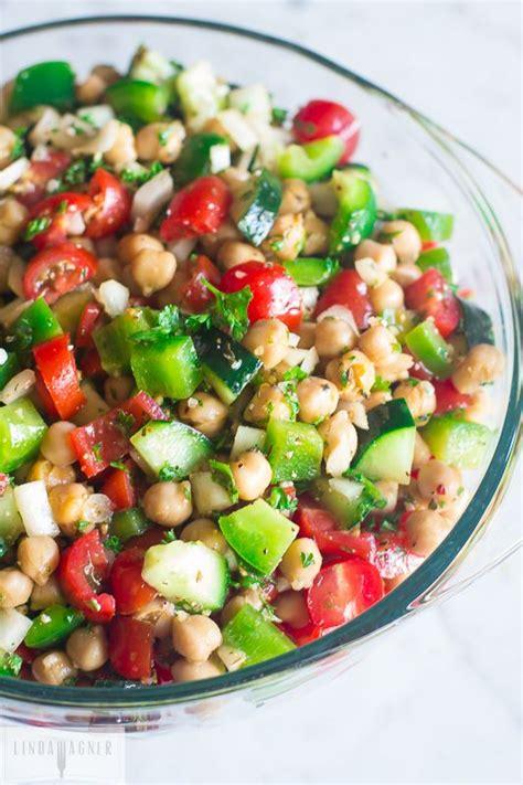 hot chick pea salad simple salad recipes the idea room
