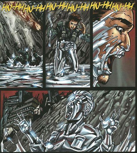 T-1000 Terminator vs Deathstroke - Battles - Comic Vine T 1000 Terminator 2