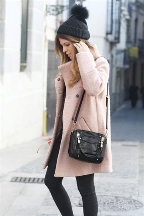 blogger outfit oversize longline coat in beige choies