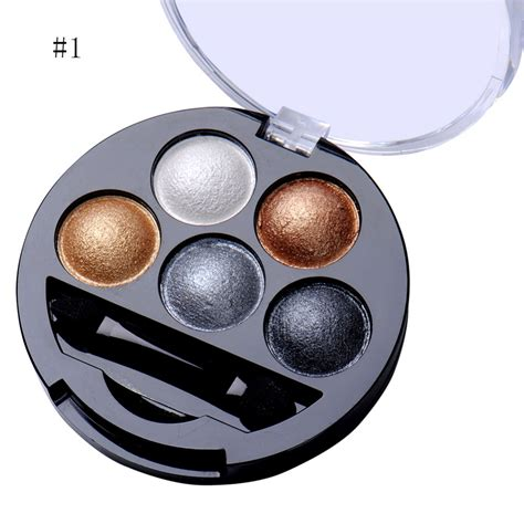 Eyeshadow Colors 5 colors pigment eyeshadow palette eye shadow powder