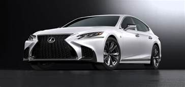 lexus reveals new 2018 ls 500 f sport says it s the most