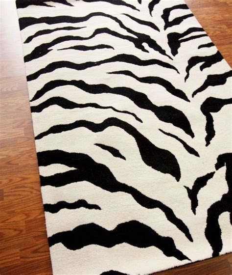 black and white zebra print rug black and white zebra area rug best decor things
