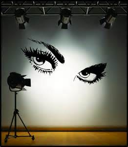 Eye Wall Stickers Wall Art Sexy Giant Eyes Wall Stickers Ebay