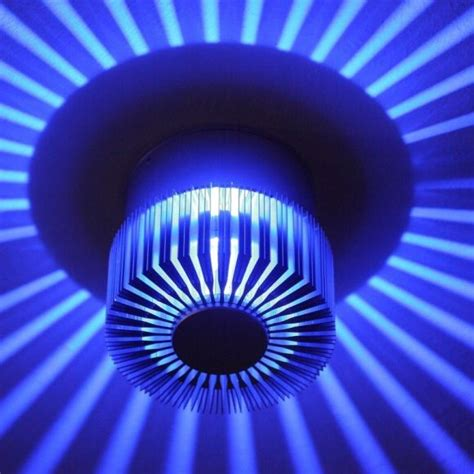 wandbeleuchtung led innen led wandleuchte f 252 r den innen und au 223 enbereich blaue
