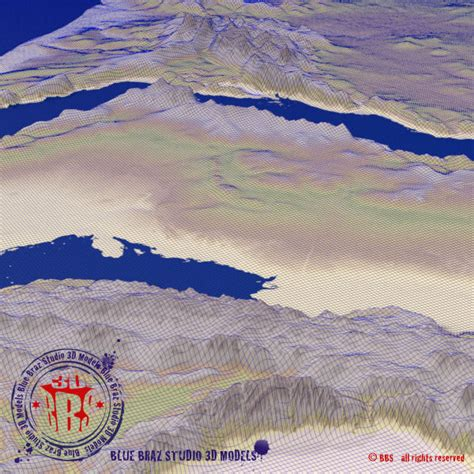 middle east elevation map middle east elevation map 3d model 3ds c4d dae cgtrader