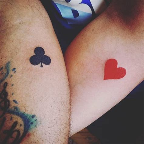 couple small tattoos small ideas for couples best ideas gallery
