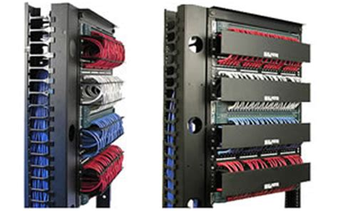neat patch patch panel cable management rack