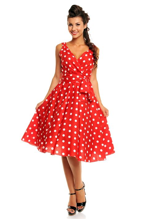 polka dot swing dress 1950s ladies marilyn 1950 s rockabilly plus size polka dot retro