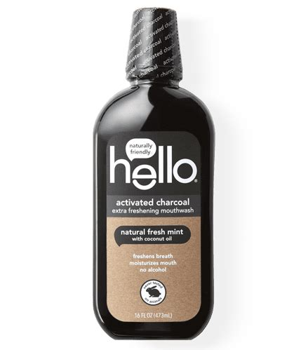teeth whitening activated charcoal mouthwash  products