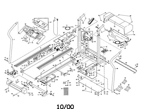weslo wltl treadmill parts sears partsdirect