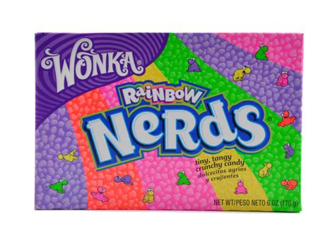 Wonka Nerds Strawberry Grape Candies 47 Gr wonka rainbow nerds 170g home sick american