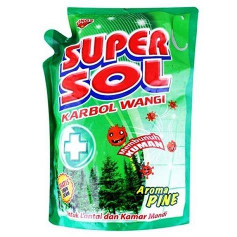 Sol Pembersih Lantai Carbol Supersol Pouch 1800ml