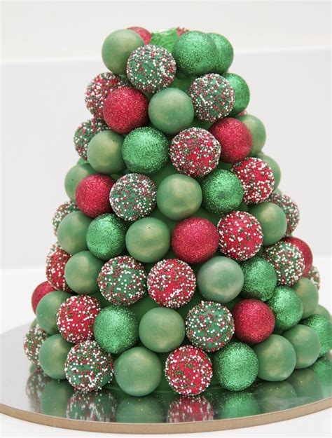 making a cake pop christmas tree something for cake blog