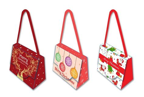 decorative paper gift bags decorative unique christmas gift bags 300 gsm herringbone