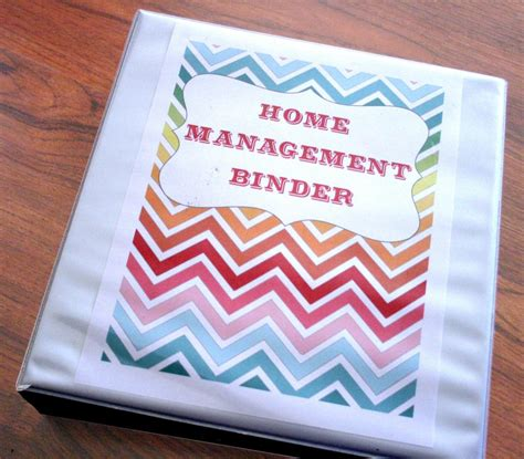 home organizer printables