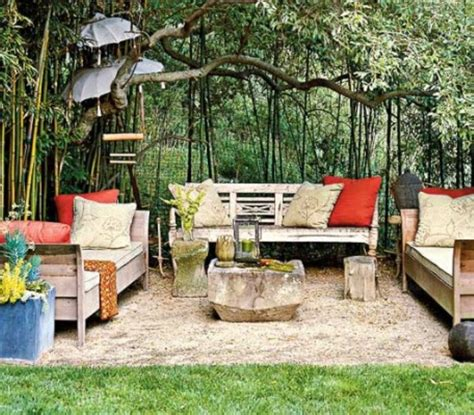 dirt backyard ideas dirt patio garden nooks living spaces pinterest