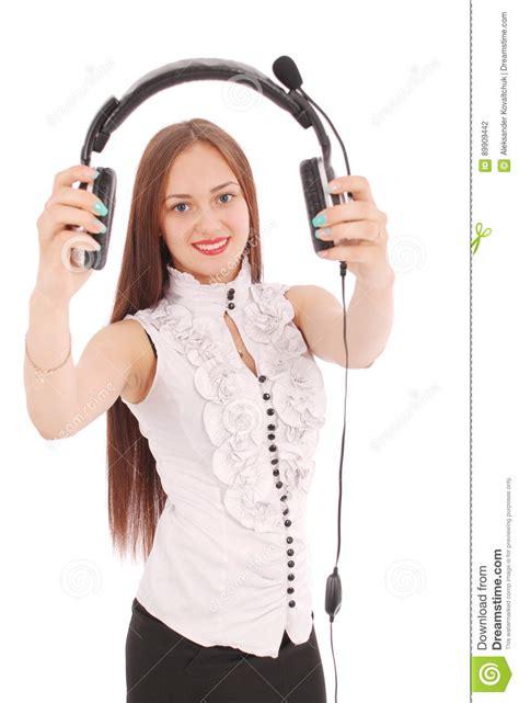 www housebeautiful customer service beautiful customer service operator student with headse stock photo image 89909442