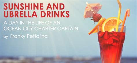 sunshine and umbrella drinks ocean city md fishing - Umbrella Boat Ocean City Md