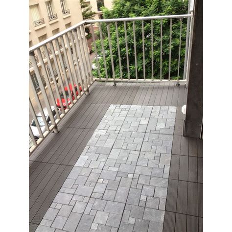 Dalles Clipsables Pour Terrasse 3279 by Dalle Clipsable Couleur Gris Dallage Terrasse Et Jardin