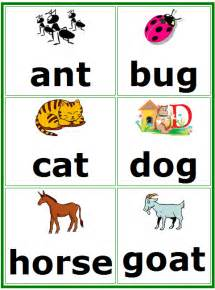 Word wall flash cards free printable picture words flashcards for