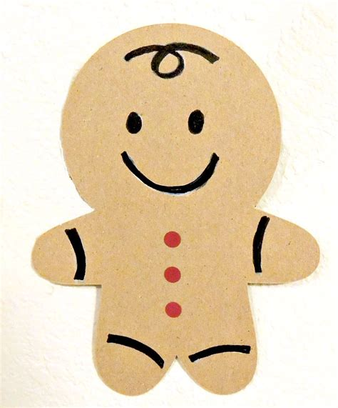 How To Make A Paper Gingerbread - gingerbread banner crafting in the sugar bee