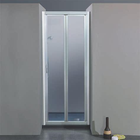 porta a soffietto per doccia porta doccia soffietto 1000 da 59 67 cm in cristallo 4 mm