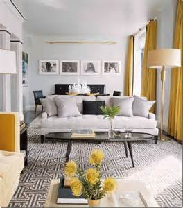 Yellow Grey Living Room Images Contemporary Vintage Living Room Grey And Yellow Just