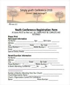 Youth Registration Form Template by Registration Form Templates