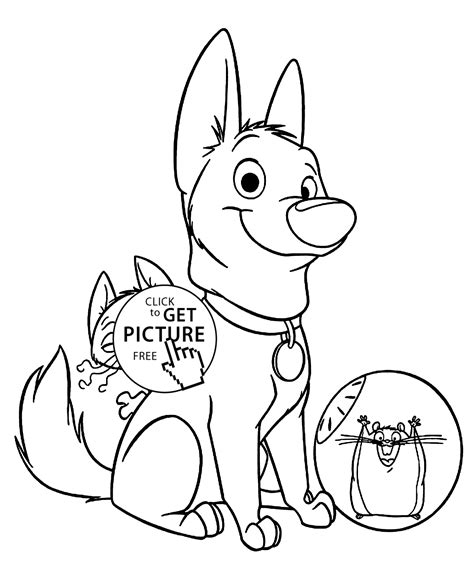 characters coloring pages bolt characters coloring pages for printable free