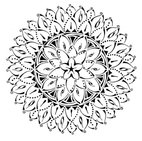 tribal pattern coloring pages floral tribal mandala coloring page free printable