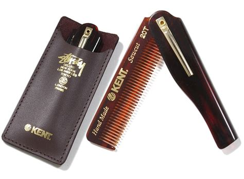 Sshao Hair Comb No V6 stussy vs kent switchblade comb lost in a supermarket