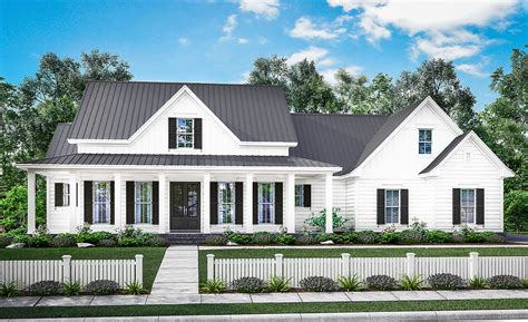 farmhouse floorplans three bed farmhouse with optional bonus room 51758hz architectural designs house plans