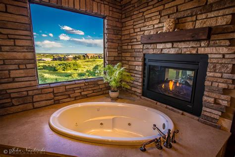 colorado bathrooms photo of colorado home master bath with fireplace scenic