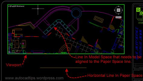 autocad layout viewport ucs use align space to easily align a viewport view autocad tips