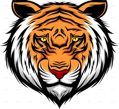 tiger head by bayurip graphicriver