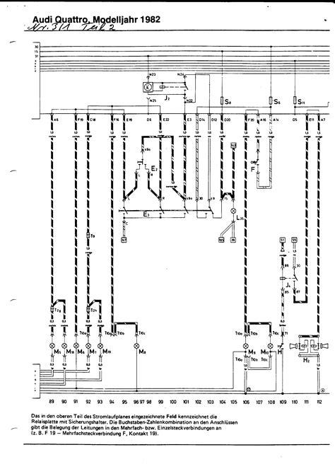 audi ur quattro wiring diagrams numeric index