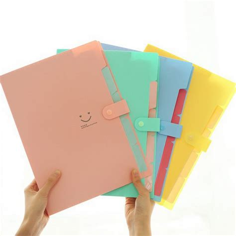 make your own file delicate a4 plastic paper storage file document bag pouch