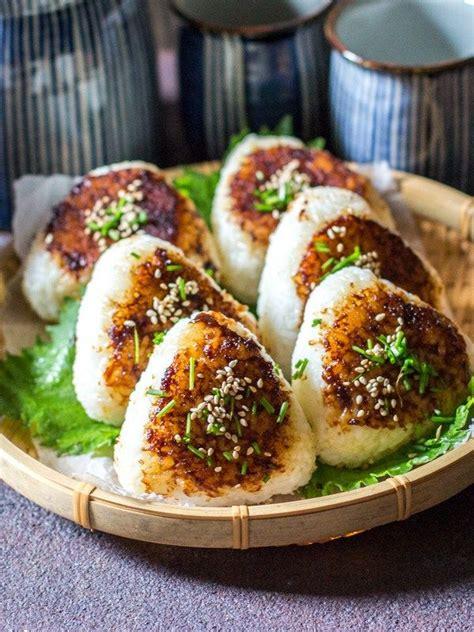 yakionigiri miso butter flvour yaki onigiri grilled rice