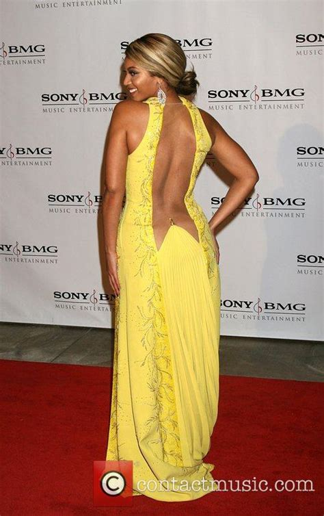 Post Grammy Sonybmg Looks by Beyonce Knowles Attending The Sony Bmg Post Grammy