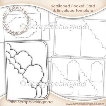 prescribing pocket card template scalloped pocket card envelope template commercial use