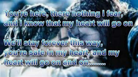 film titanic song lyrics titanic song with lyrics youtube